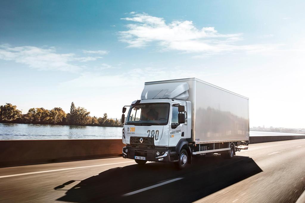 RENAULT TRUCKS: D/D Wide, Magazyn Ciężarówki
