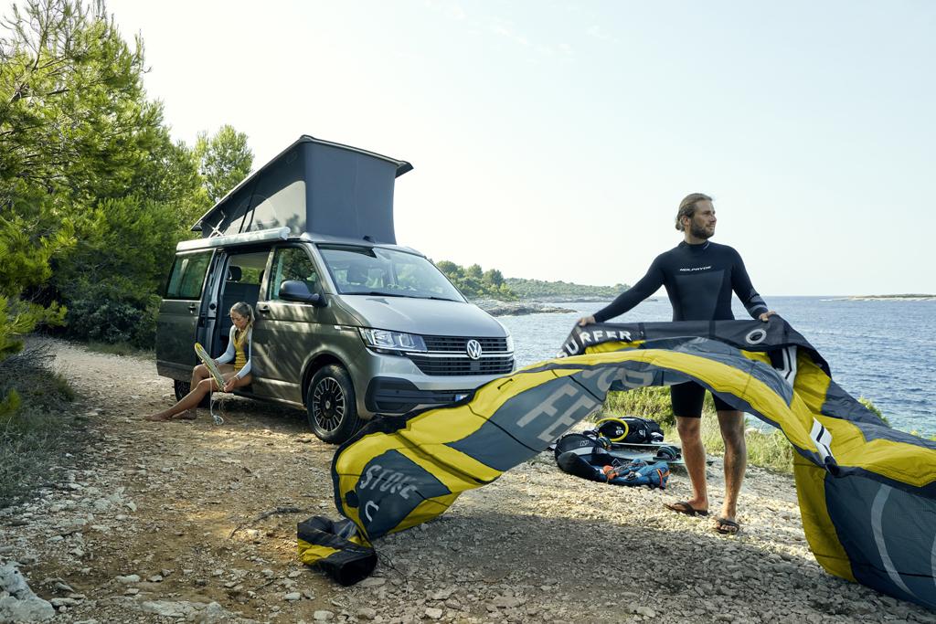 Volkswagen: California 6.1, Magazyn Ciężarówki