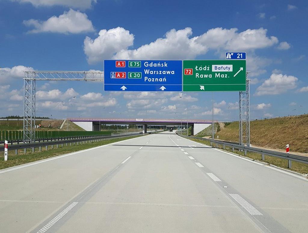 GDDKiA: Jednolite i intuicyjne oznakowanie dróg, Magazyn Ciężarówki