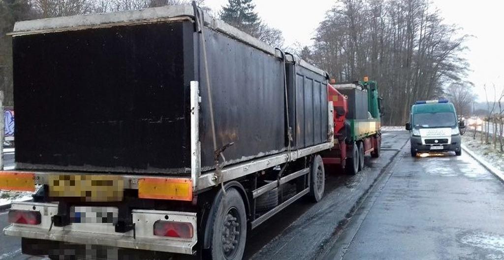 Prawo: Przeciążony transport szamb, Magazyn Ciężarówki