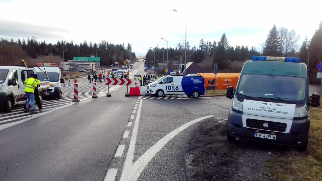ITD wspiera inne służby na granicach, Magazyn Ciężarówki
