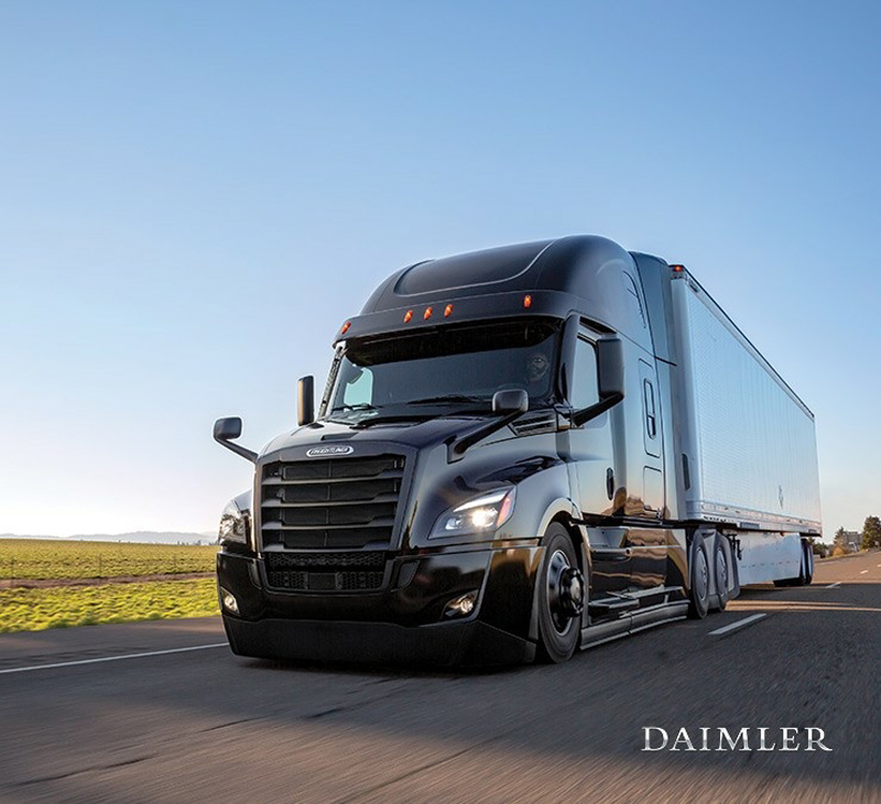 Freightliner Cascadia powstał już pod skrzydłami Daimlera.