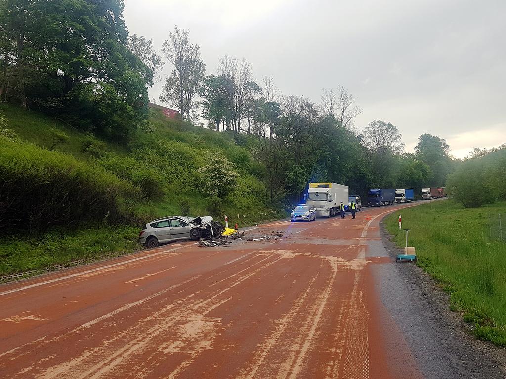 Prawo: Śmiertelny wypadek na DK8, Magazyn Ciężarówki