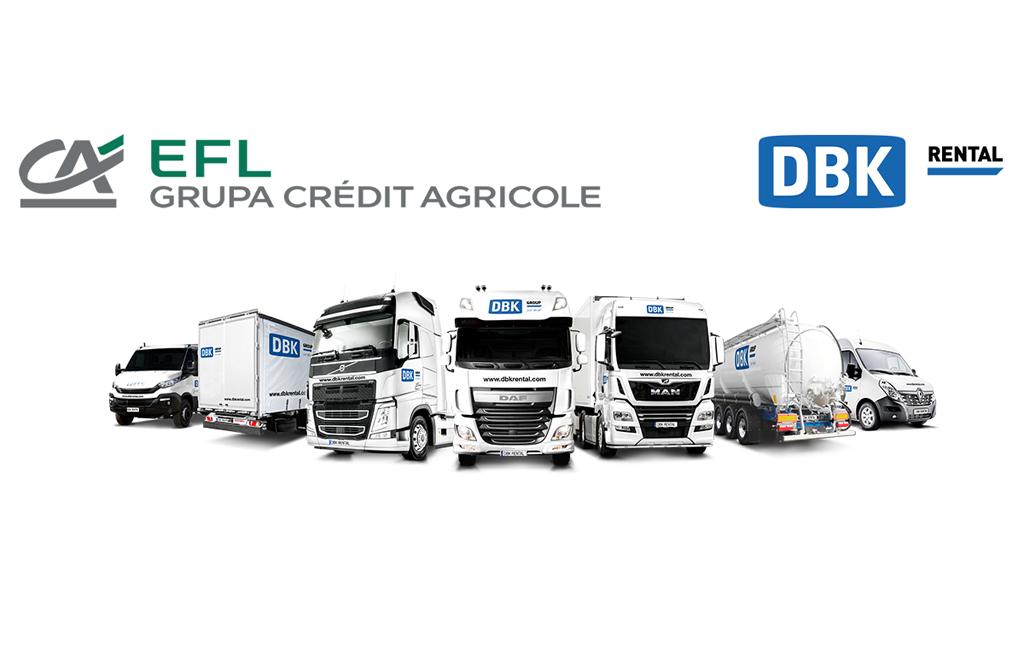 EFL strategicznym partnerem Grupy DBK, Magazyn Ciężarówki