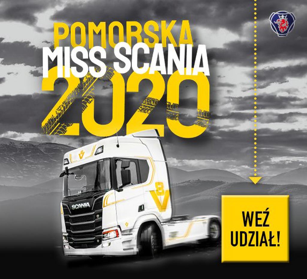Pomorska Miss Scania 2020 – głosowanie online, Truckslog.pl
