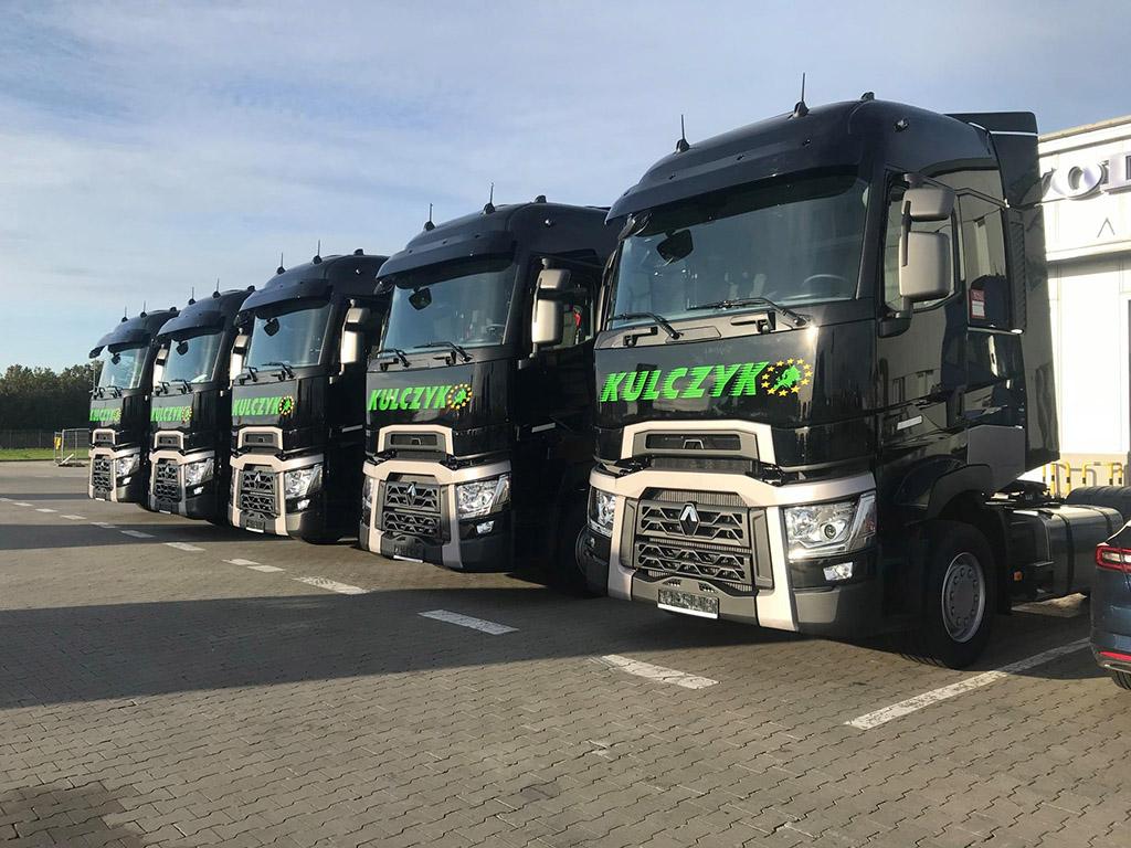 RENAULT TRUCKS: Kolejne pojazdy dla firmy Transport Ciężarowy Jan Kulczyk, Truckslog.pl