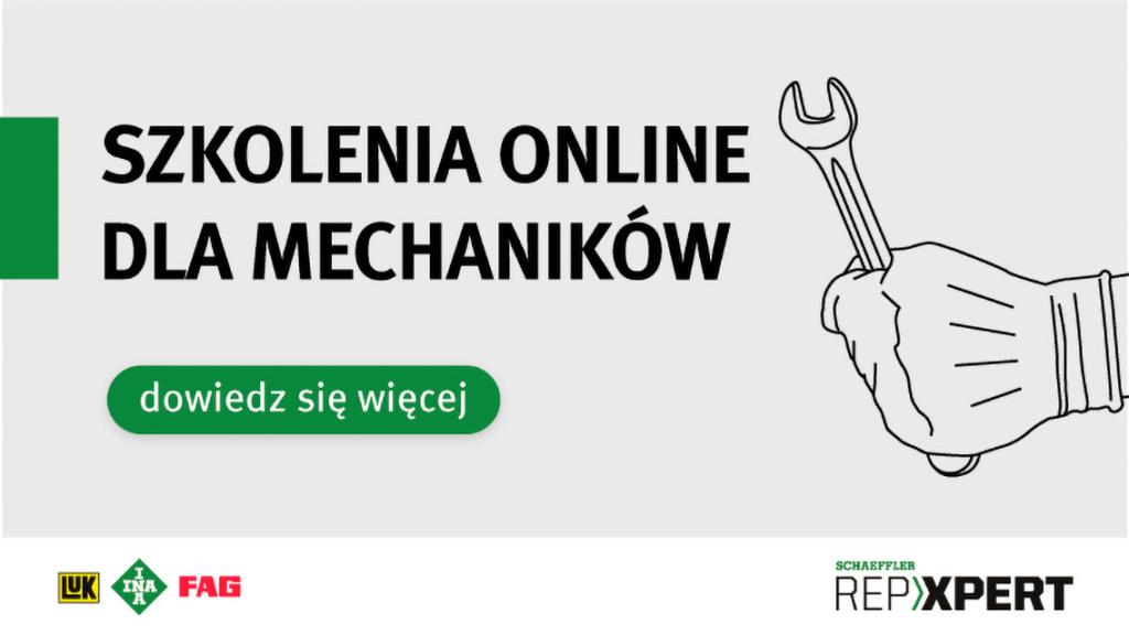 Schaeffler: Szkolenia online dla mechaników, Truckslog.pl