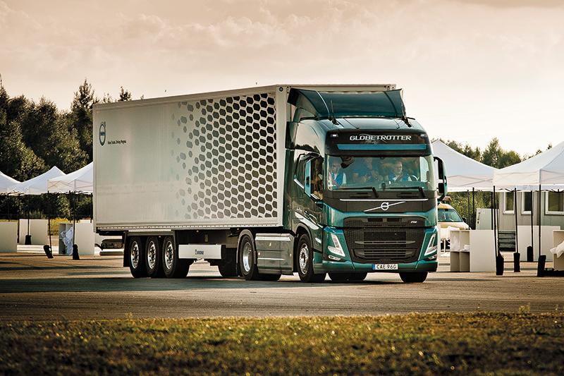 Volvo FH  w najnowszym wcieleniu.