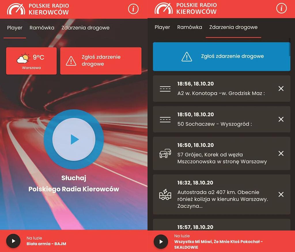 Polskie Radio Kierowców już nadaje, Truckslog.pl