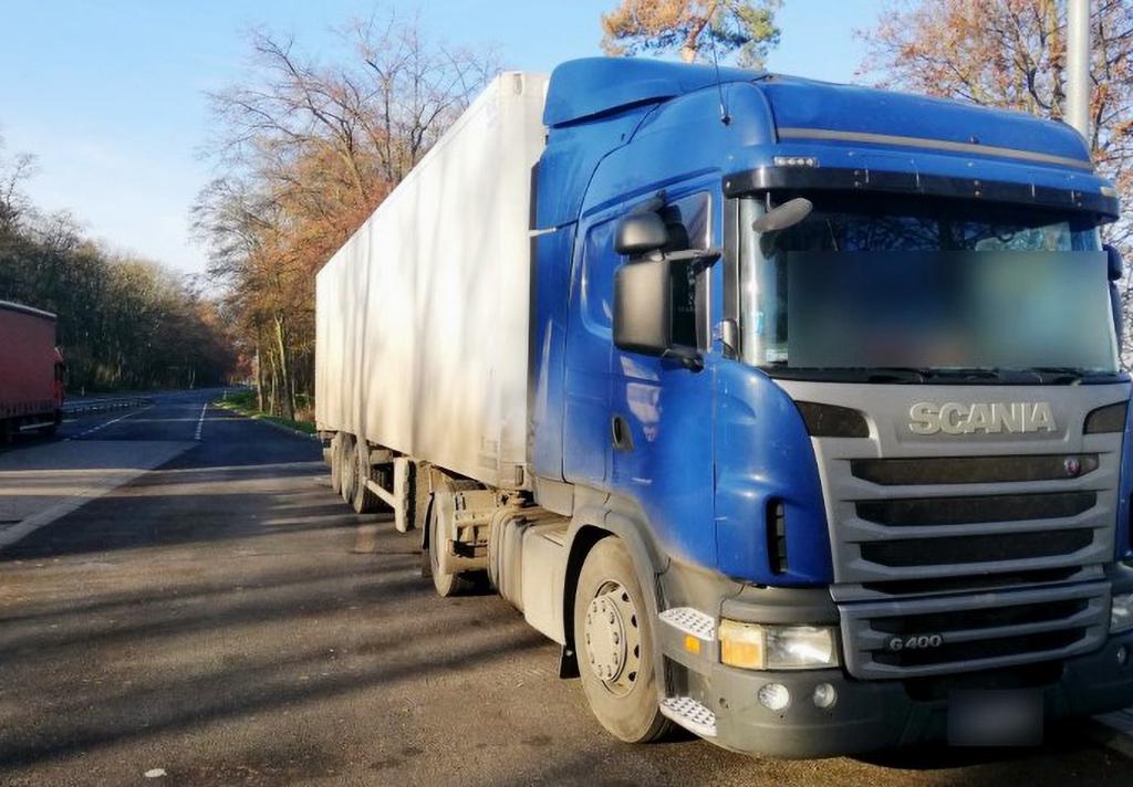 PRAWO: Kierowca ciężarówki z nielegalnym magnesem nie zatrzymał się do kontroli, Truckslog.pl