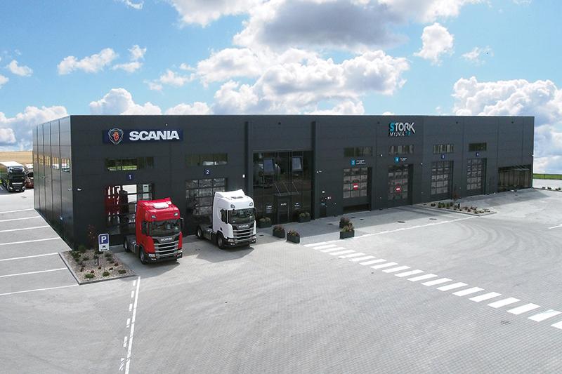 Otwarty w 2020 roku serwis w Toruniu jest najnowszy w sieci firmy.