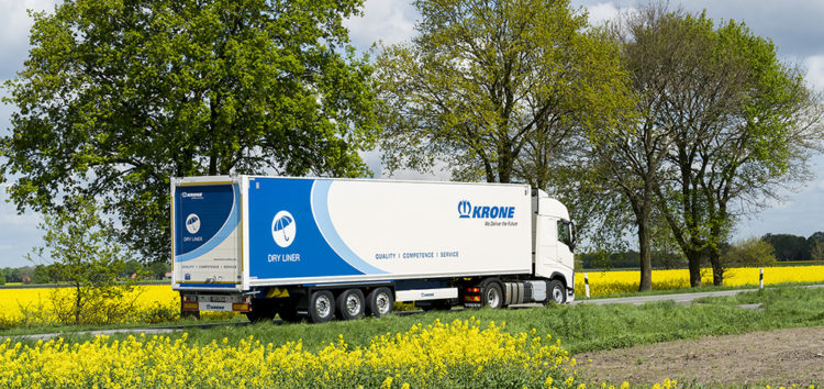 KRONE: Nowa generacja Dry Linerów na nowo definiuje naczepę do przewozu ładunków suchych