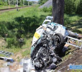 PRAWO: Tragiczny wypadek drogowy w Lubinie