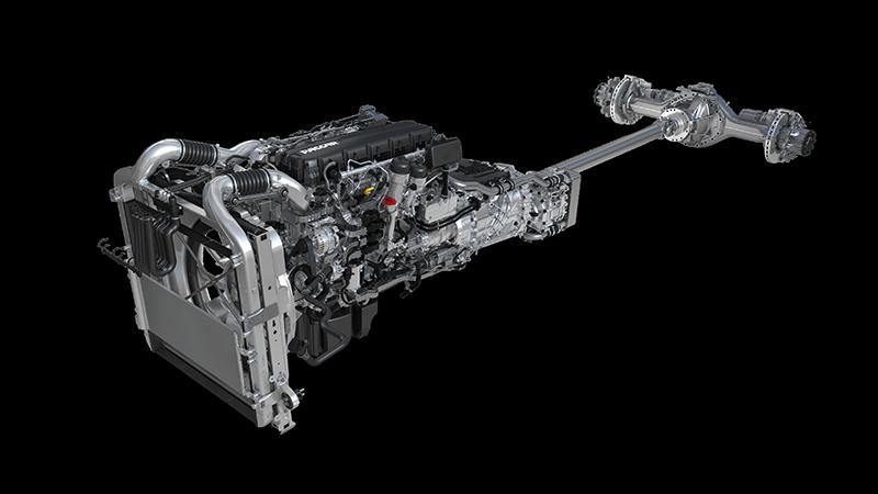 Przy okazji tworzenia Nowej Generacji dopracowano ich układy napędowe. Na zdjęciu z silnikiem PACCAR MX-13 o mocy 530 KM.