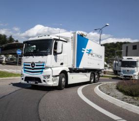 MERCEDES-BENZ TRUCKS: 30 czerwca odbędzie się światowa premiera elektrycznej ciężarówki eActros!