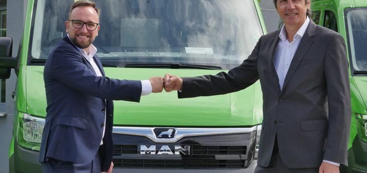 MAN: Firma GTV Bus z Ozimka odbiera 40 samochodów dostawczych TGE